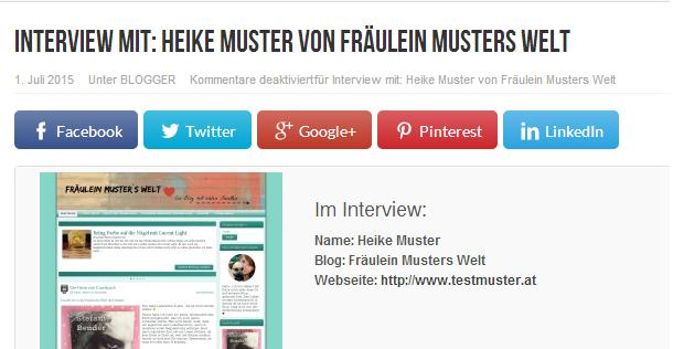 Interviewbloggerszene