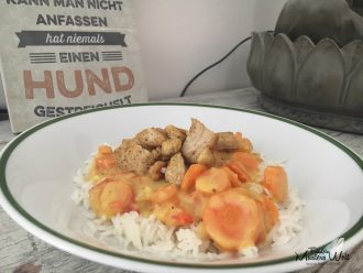 Curry-Huhn mit Basmati Reis